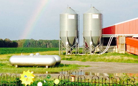 Stateler Family Farm: No place like home in McComb, Ohio!