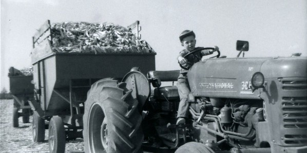 1963 National tractor harvest