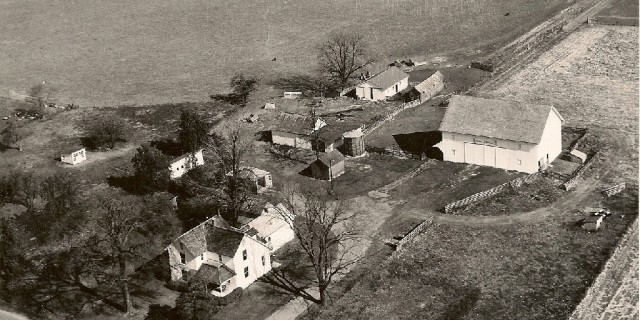 Stateler Farm: Aerial View